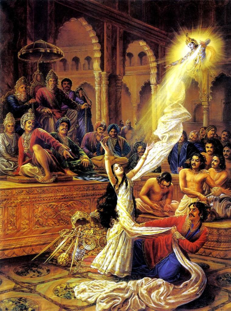 Draupadi-and-Krishna