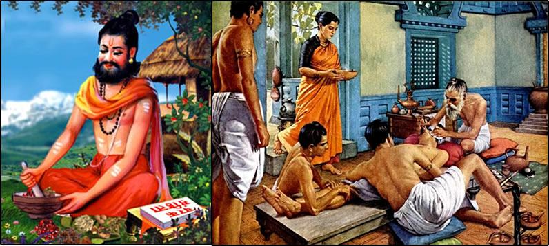 CharakSanhita and sushruta
