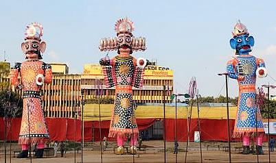 Ravan-statue