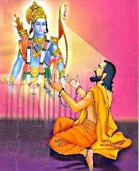 Devotee of lord rama- ramadass