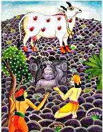 kamdhenu cow and lord krishna