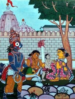 Bandhu Mahanti with family