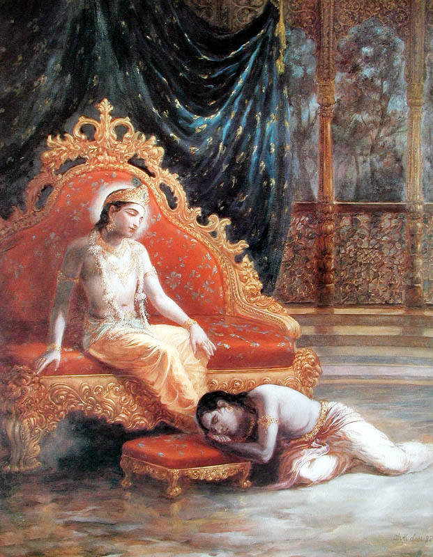 uddhavji and lord krishna
